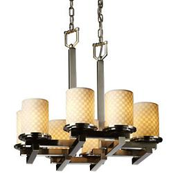 Limoges Dakota Square Zig Zag Chandelier