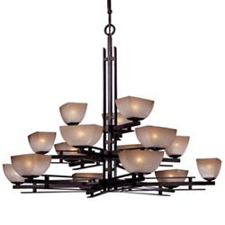 Lineage 3-Tier Chandelier