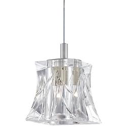 Liz 5836 Pendant (Clear/Satin Nickel) - OPEN BOX RETURN