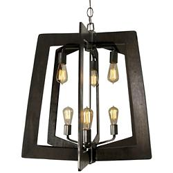 Lofty 6-Light 2-Tier Foyer Chandelier