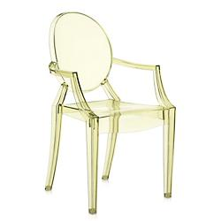 Louis Ghost Armchair (Straw Yellow) - OPEN BOX RETURN