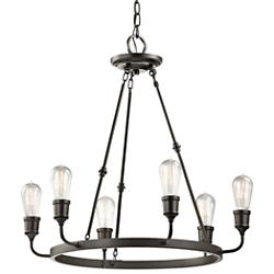 Lucien 6 Light Chandelier