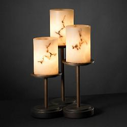 LumenAria Dakota Table Lamp (Bronze/Flat) - OPEN BOX RETURN