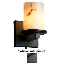 LumenAria Dakota Wall Sconce (Black/Flat) - OPEN BOX RETURN