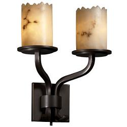 LumenAria Sonoma Cylinder Double Wall Sconce