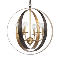 Luna Chandelier (English Bronze/Large) - OPEN BOX RETURN
