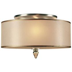 Luxo Flushmount (Antique Brass) - OPEN BOX RETURN
