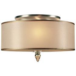 Luxo Flushmount (Antique Brass) - OPEN BOX RETURN
