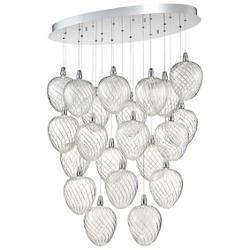 Macri Oval LED Multi Light Pendant