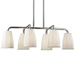 Malden 6 Light Linear Suspension