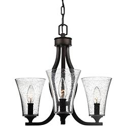 Marteau Chandelier (3 Lights) - OPEN BOX RETURN