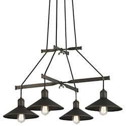 Mccoy Chandelier (Vintage Bronze) - OPEN BOX RETURN