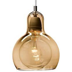 Mega Bulb Lustre Pendant (White/Gold Lustre) - OPEN BOX