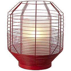 Mesh Red Table Lamp