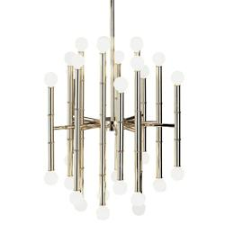 Meurice 30 Light Chandelier (Polished Nickel) - OPEN BOX