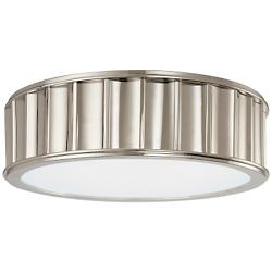 Middlebury Round Flushmount (Polished/Small) - OPEN BOX
