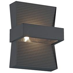 Mill LED Outdoor Sconce (Graphite Grey) - OPEN BOX RETURN