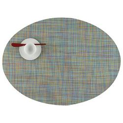 Mini Basketweave Oval Tablemat (Garden) - OPEN BOX RETURN