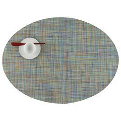 Mini Basketweave Oval Tablemat (Garden) - OPEN BOX RETURN