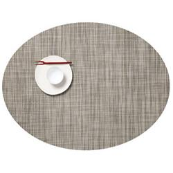 Mini Basketweave Oval Tablemat