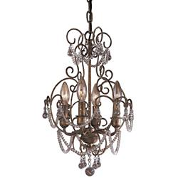 Mini Crystal Chandelier No. 3129
