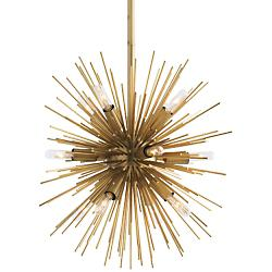Mini Zanadoo Chandelier (Antique Brass) - OPEN BOX RETURN