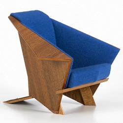Miniature Taliesin West Armchair