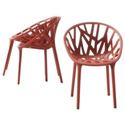 Miniature Vegetal Chairs (Set of 3)