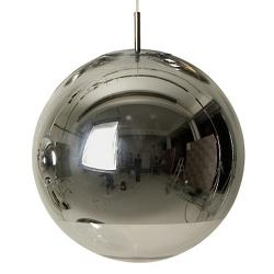 Mirror Ball Pendant (Chrome/Large) - OPEN BOX RETURN