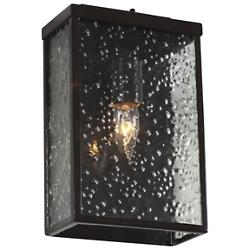 Mission You Small Outdoor Wall Sconce