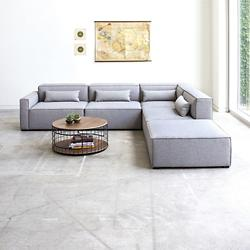 Mix Modular 5 Piece Sectional - Left Facing