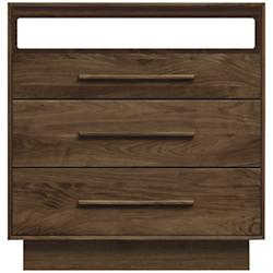 Moduluxe 35-Inch 3 Drawer Dresser and TV Organizer