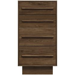 Moduluxe 35-Inch 4 Drawer Narrow Dresser