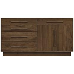 Moduluxe 35-Inch 4 Drawer/1 Drawer and 2 Door Dresser