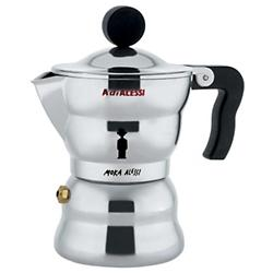 Moka Alessi Espresso Coffee Maker (1 Cup ) - OPEN BOX RETURN