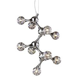 Molecular 9-Light Chandelier