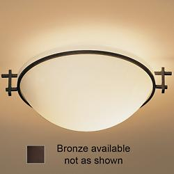 Moonband Flushmount (Small/Bronze/Opal) - OPEN BOX RETURN