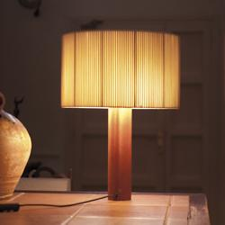 Moragas Table Lamp (Wood) - OPEN BOX RETURN