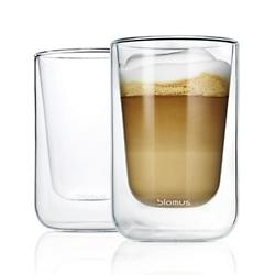 NERO Set of 2 Insulated Cappuccino Glasses