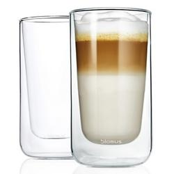 NERO Set of 2 Insulated Latte Macchiato Glasses