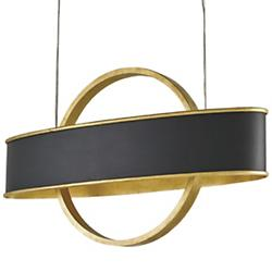Newgate Linear Suspension (Gold Leaf) - OPEN BOX RETURN