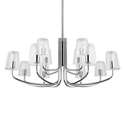 Noveta 2-Tier LED Chandelier