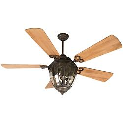 Olivier Indoor/Outdoor Ceiling Fan