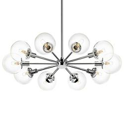 Orb Radial Pendant (Clear/Polished Chrome) - OPEN BOX RETURN