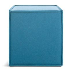 Otto Ottoman (Aqua Thurmond) - OPEN BOX RETURN