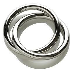 Oui Napkin Ring (Mirror Polished) - OPEN BOX RETURN