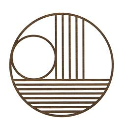 Outline Trivet Circle
