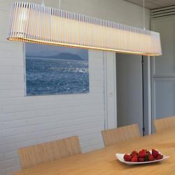 Owalo LED Linear Suspension