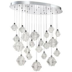 Owen Oval LED Multi Light Pendant