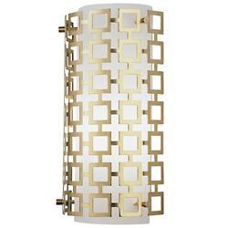 Parker Half Round Wall Sconce (Antique Brass) - OPEN BOX